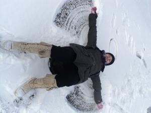 silly #5 Choe, the snow fairy :D