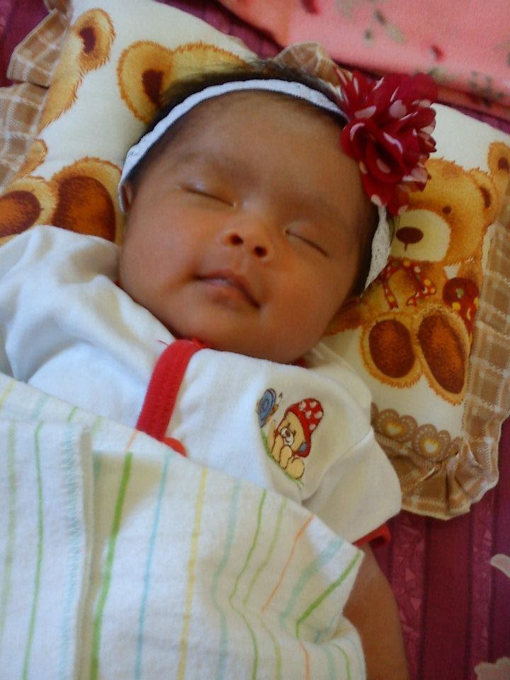 my baby niece