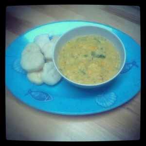 Corn Cream Soup ala deary