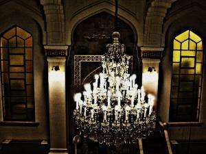 Masih interior mesjid, foto diambil dari shaf perempuan di lantai 2
