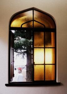 Detail jendela mesjid