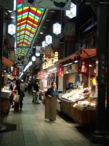 Nishiki Market, pasar yang jadi daya tarik wisata